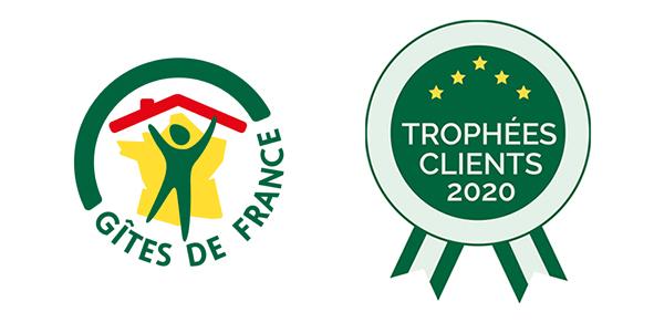 trophées clients Gite de france